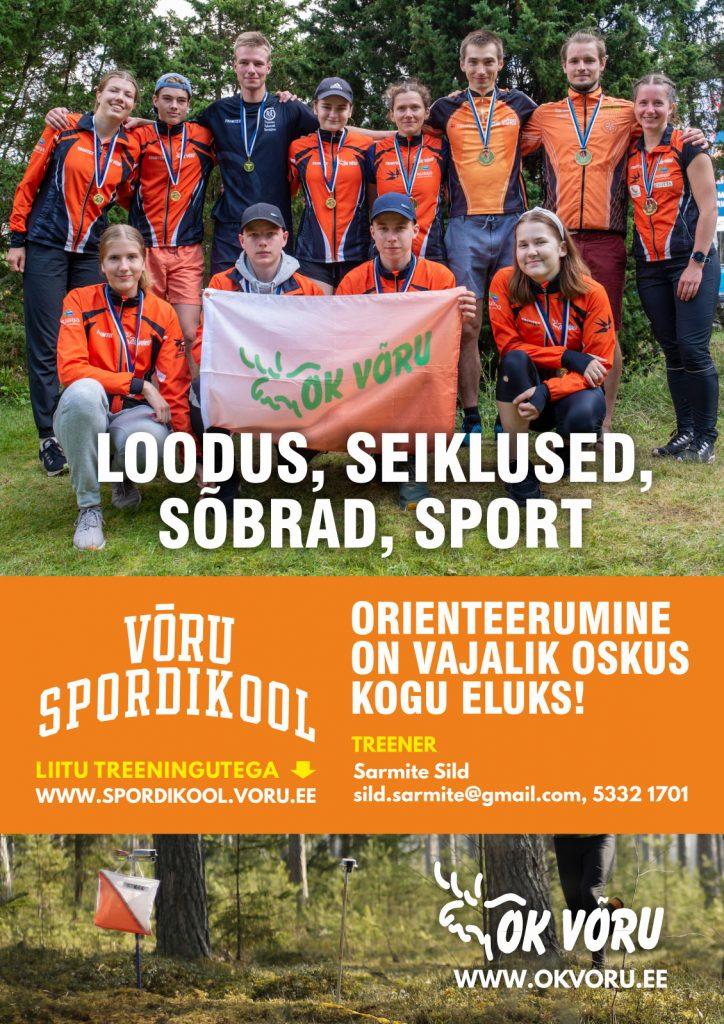 Võru Spordikool, orienteerumine